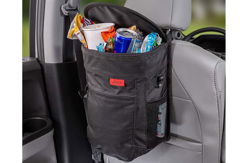 Lusso Gear Leakproof/Removable Car Trash Can