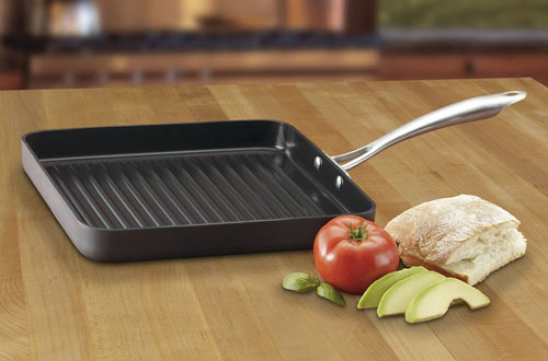 Cuisinart Hard-Anodized Nonstick Square Grill Pan