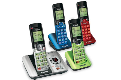 VTech CS6529-4B 4-Handset Cordless Phone with Answering System