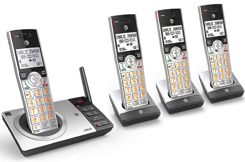 AT&T CL82407 Expandable Cordless Phone with Answering System & Smart Call Blocker