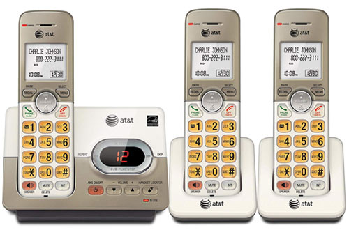 AT&T EL52313Expandable Cordless Phone with Answering System & Extra-large Backlit Keys
