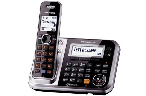 Panasonic Bluetooth Cordless Phone with Answering Machine & Handsets