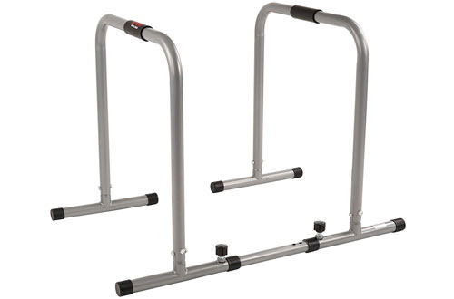 Sunny Health & Fitness Dip Station Body Press Parallel Bar