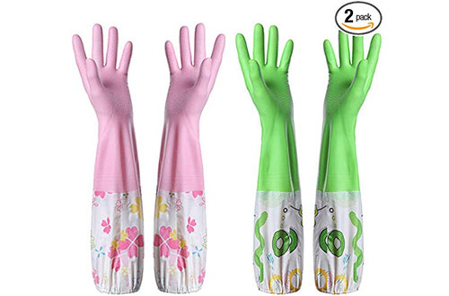 Smile Mall Rubber Latex Cleaning Gloves