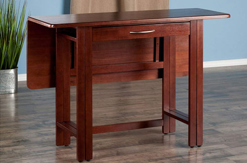 Winsome Wood 94145-WW Taylor Drop Leaf Dining Walnut