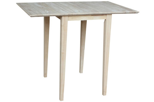 International Concepts T-2236D Small Drop-leaf Table