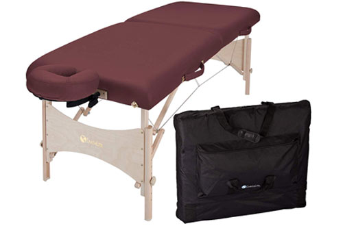 EARTHLITE Portable Massage Table withHeavy-Duty Carry Case
