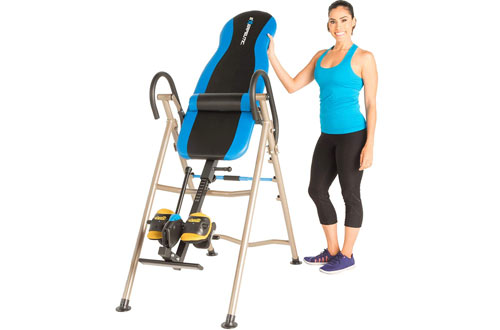 Adjustable Inversion Table with SURELOCK Safety Ratchet System – EXERPEUTIC 225SL