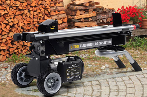 Goplus 6 Ton Hydraulic Log Splitter with Mobile Wheels