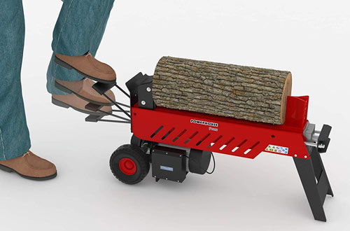 Powerhouse XM-580 9 Ton Electric Hydraulic Horizontal Log Splitter