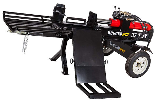 RuggedMade 420cc 37-Ton Horizontal Gas Log Splitter