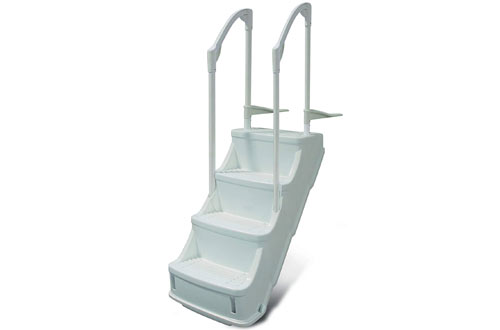 Champlain Plastics Drop-in Step/Ladder for Above Ground Pool