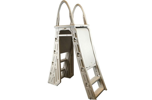 Confer Heavy Duty Above-Ground Pool Ladder & Hydro Tools Protective Mat