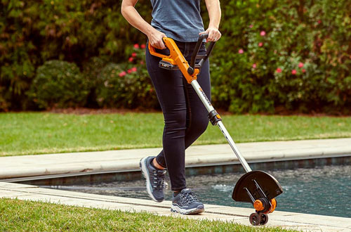 WORX WG929.1 Grass String Trimmer WG162 and 20V Power Share Cordless Turbine Blower