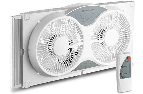 Electronically Reversible Twin Window Cooling Fan – BOVADO USA