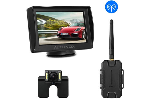 AUTO-VOX M1W Wireless Backup Camera for Cars, Trucks & Trailers