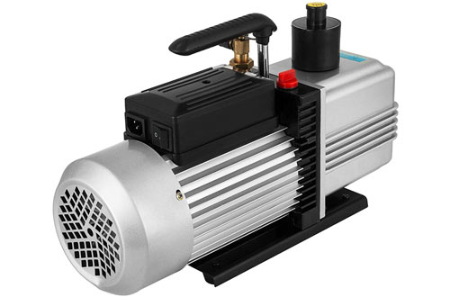 VEVOR 12CFM HVAC Auto AC Refrigerant Air Conditioning Vacuum Pump