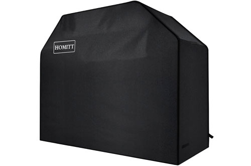 HomittHeavy Duty Waterproof BBQ Cover with Handles & Straps