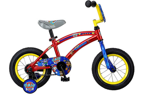 Nickelodeon Paw Patrol Bicycles for Kids with Steel Frames & Training Wheels