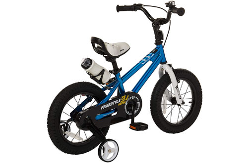RoyalBaby Freestyle Kids Bike for Boys and Girls with Training Wheels