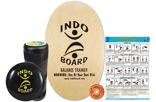 INDO BOARD Original Training Board for Fitness Training and Fun