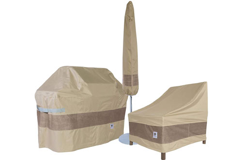 Duck Covers Elegant Patio Chaise Lounge Cover