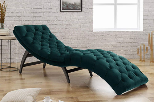 Grasby Tufted Chaise Lounge Indoor