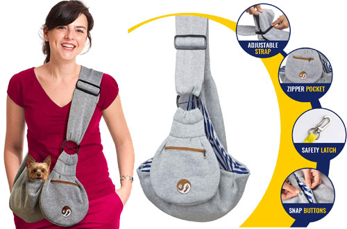 Timetuu Pet Sling Carrier for Small Dogs or Cats