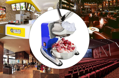 ROVSUN UPGRADED Commercial Stainless Steel Ice Shaver Machine
