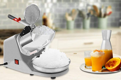 VIVOHOME Electric Ice Crusher Shaver Machine for Home and Commerical Use