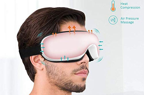 Phniti Eye Massager with Heat Compression & Air Pressure