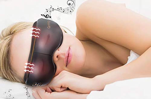 OSITO Eye Massager Rechargeable Massage Therapy Machine for Dark Circles