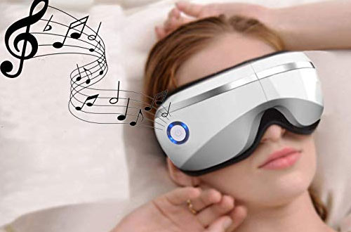 BAIYEA Wireless Rechargeable Foldable Eye Massager