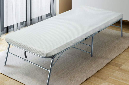 Quictent Heavy Duty Folding Bed with 2-Extra Support Belts
