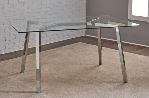 Christopher Knight Home Verna Rectangle Glass Dining Table