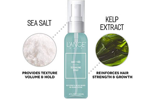 L'ange Hair Salt Plus Sea Texturizing Spray for Hair