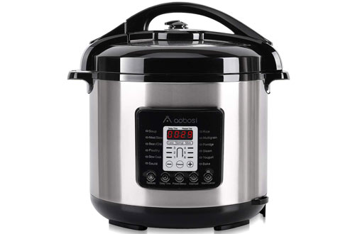 Aobosi Stainless Steel Pot & Housing Electric Pressure Cooker