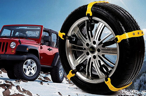 Besteamer Snow Car Tire Chains for Car, SUV & Truck