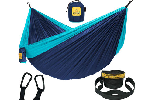 Wise Owl Outfitters Double & Single Hammock Camping