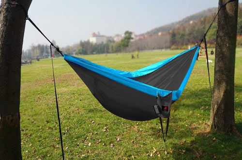 HONEST OUTFITTERS Single & Double Camping Hammock for Backpacking Travel