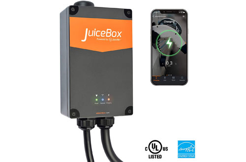 JuiceBox Pro 40 Smart Electric Vehicle Charging Station with WiFi