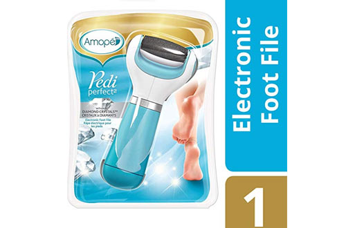 Amope Pedi Electronic Foot File & Callus Remover for Feet