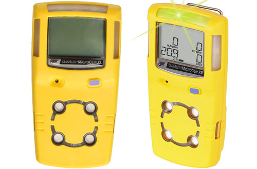 BW Technologies MCXL-XWHM-Y-NA Gas Detector, CO, H2S, LEL and O2