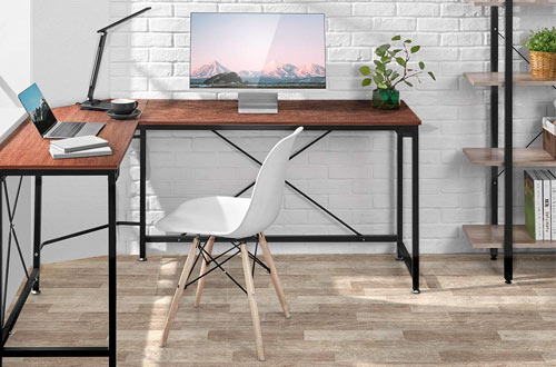 AOOU Computer Desk - Modern L-Shaped Corner Desk for Home Office