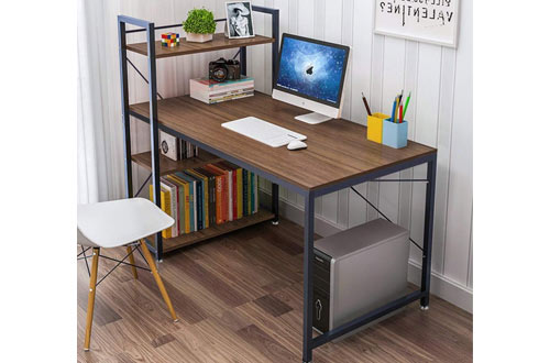 Yoleo Tower Computer Wood Home Office Desks
