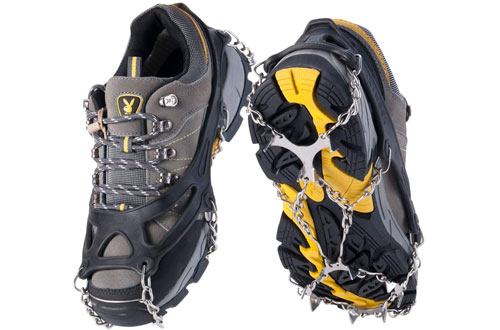 OuterStar Traction Ice Snow Cleats for Footwear