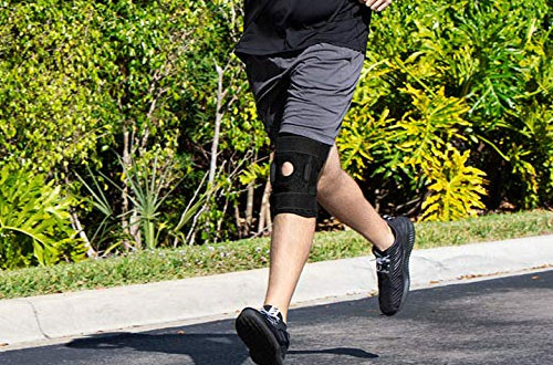 Vive Hinged Knee Brace for Running and Arthritic Joint Problems