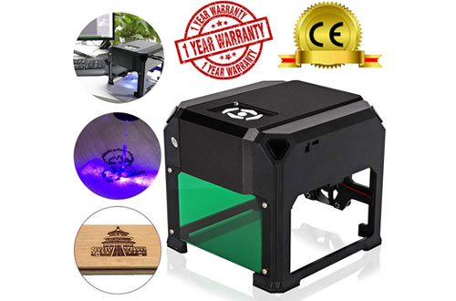 TopDirect 3000mW Mini Laser Engraving Machine & Printer