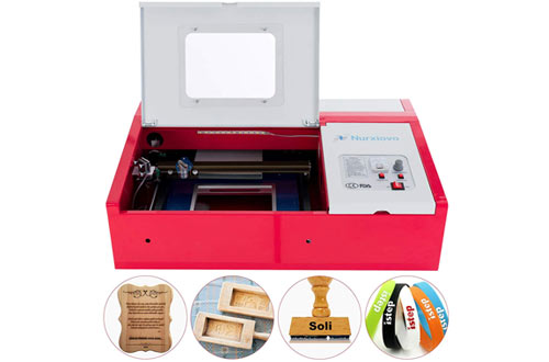 SUNCOO 40W CO2 Laser Engraving Machine for Cutting, Glass, Wood, Leather