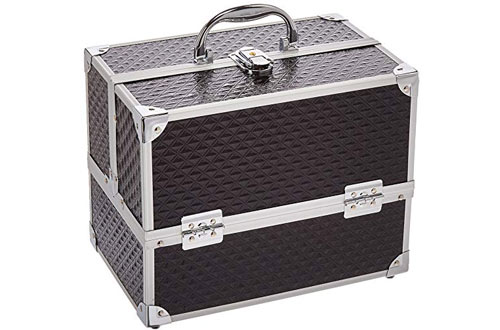 Caboodles Love Struck 6-Tray Makeup Train Case